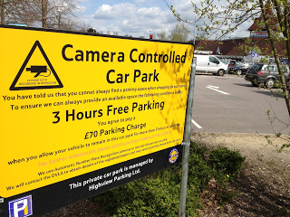 Tesco clampdown on parking