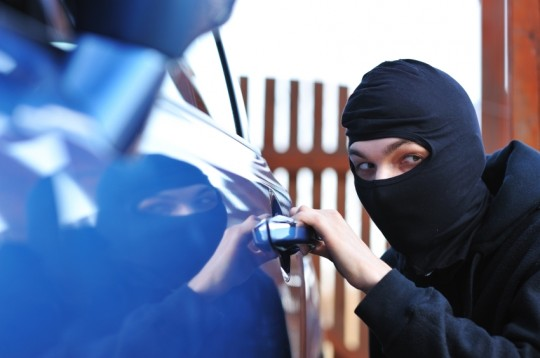 Thefts from vehicles on the rise!