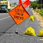 Drivers Asked to Throw Litter from Cars