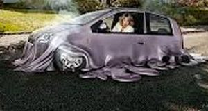 Melting Car