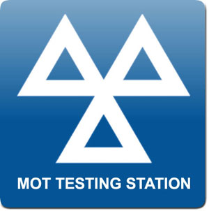 mot test sign
