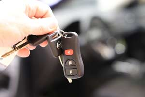 Car key theft protection