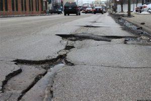 UK pothole problem