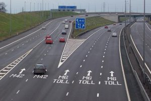 M6 toll road news