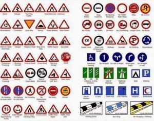 UK Highway Code Signs