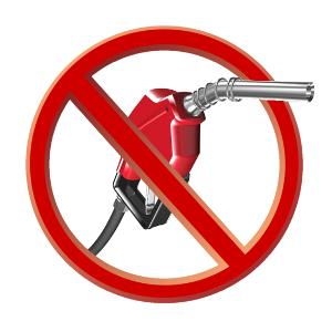 Diesel fuel cars banned